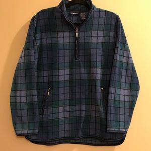 Catalina Check Plaid Fleece Pullover